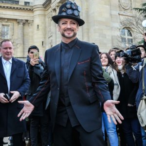 Boy George during Paris Fashion Week
