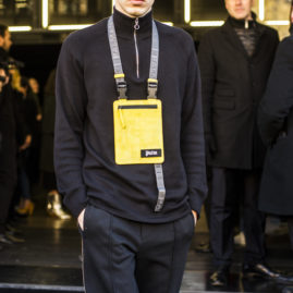 Street Style from Milan man fashion week January 2019